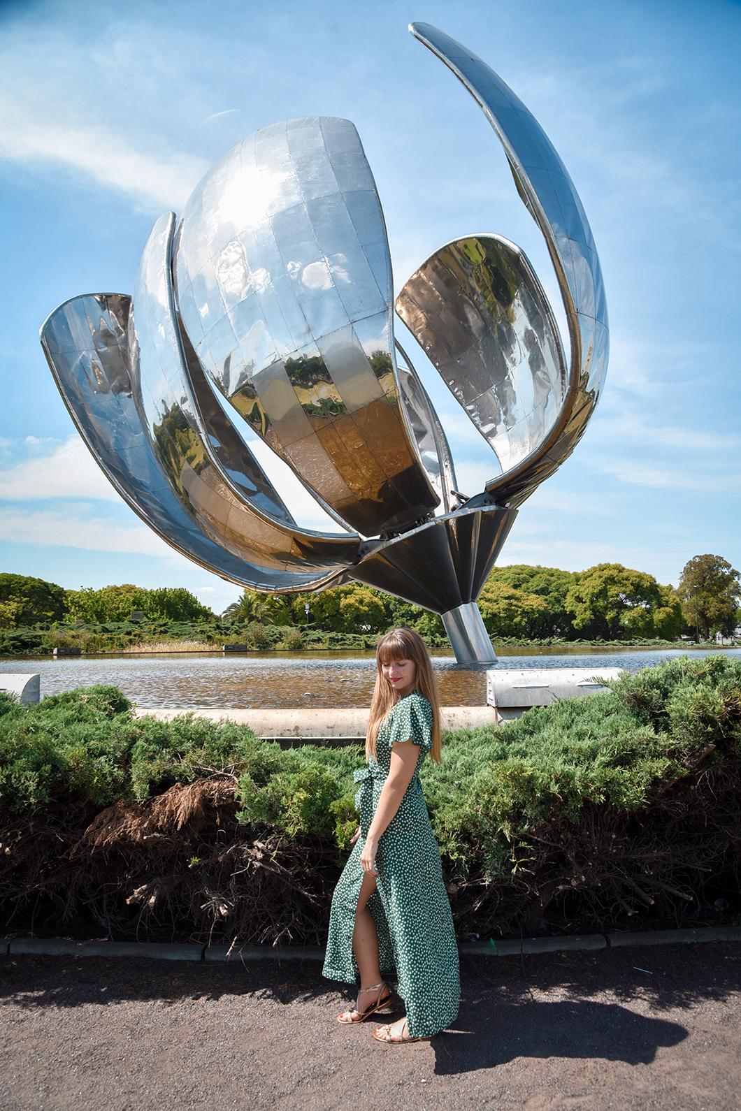 Floralis Genérica, sculpture de fleurs à Buenos Aires