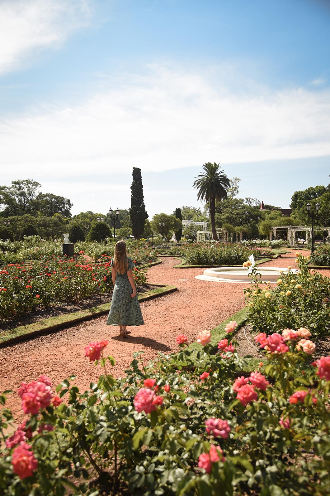 Paseo de Rosedal, le plus beau parc de Buenos Aires