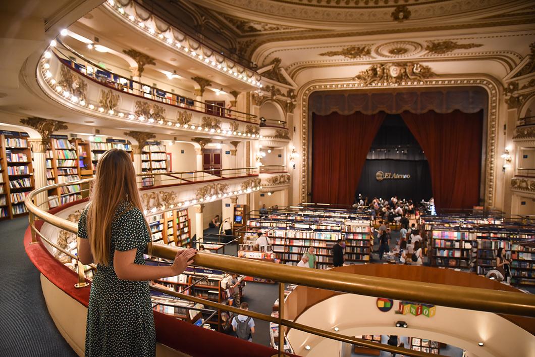 El Ateneo Grand Splendid, la plus belle librairie de Buenos Aires