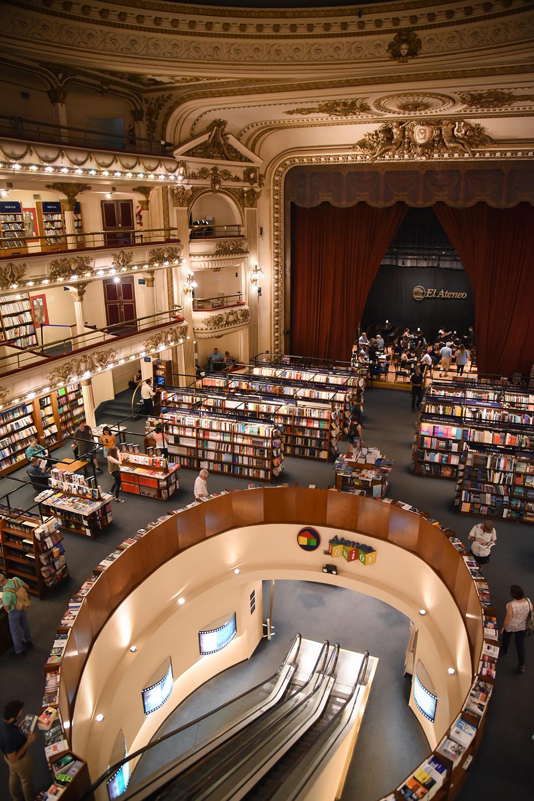 La librairie El Ateneo Grand Splendid