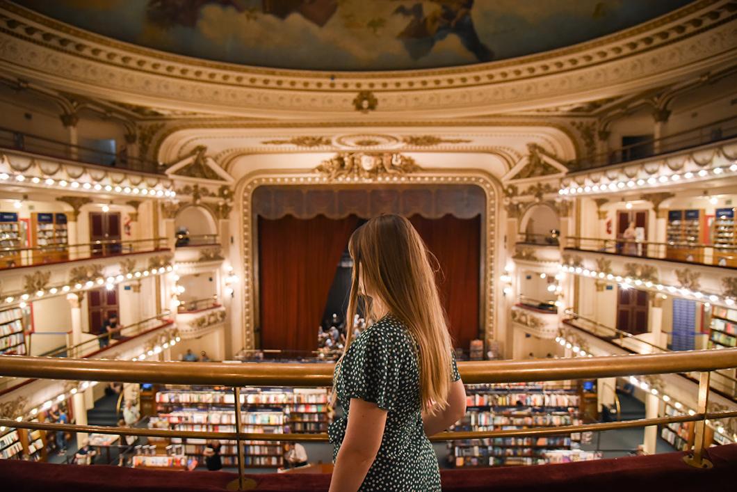 El Ateneo Grand Splendid, librairie dans un ancien théatre