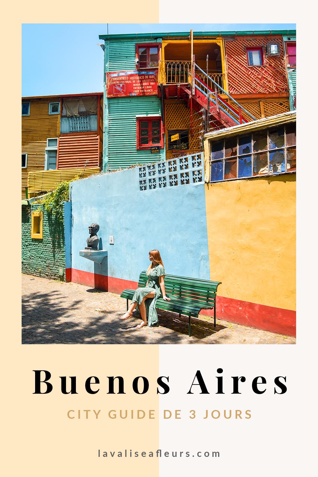 City guide de 3 jours à Buenos Aires