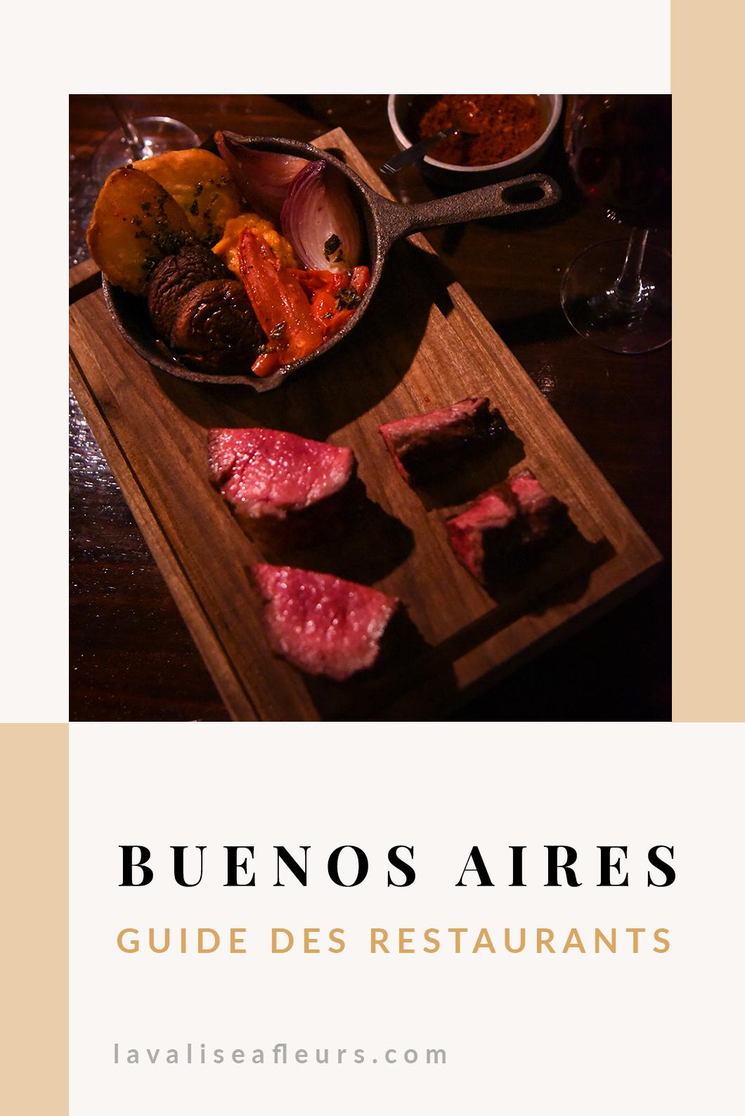 Guide des restaurants à Buenos Aires