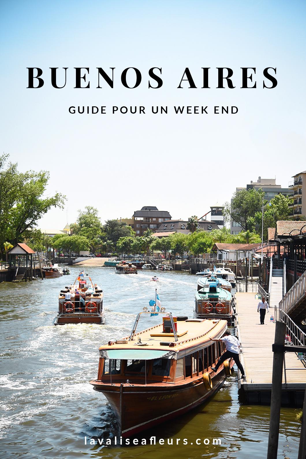 Guide pour un week end à Buenos Aires