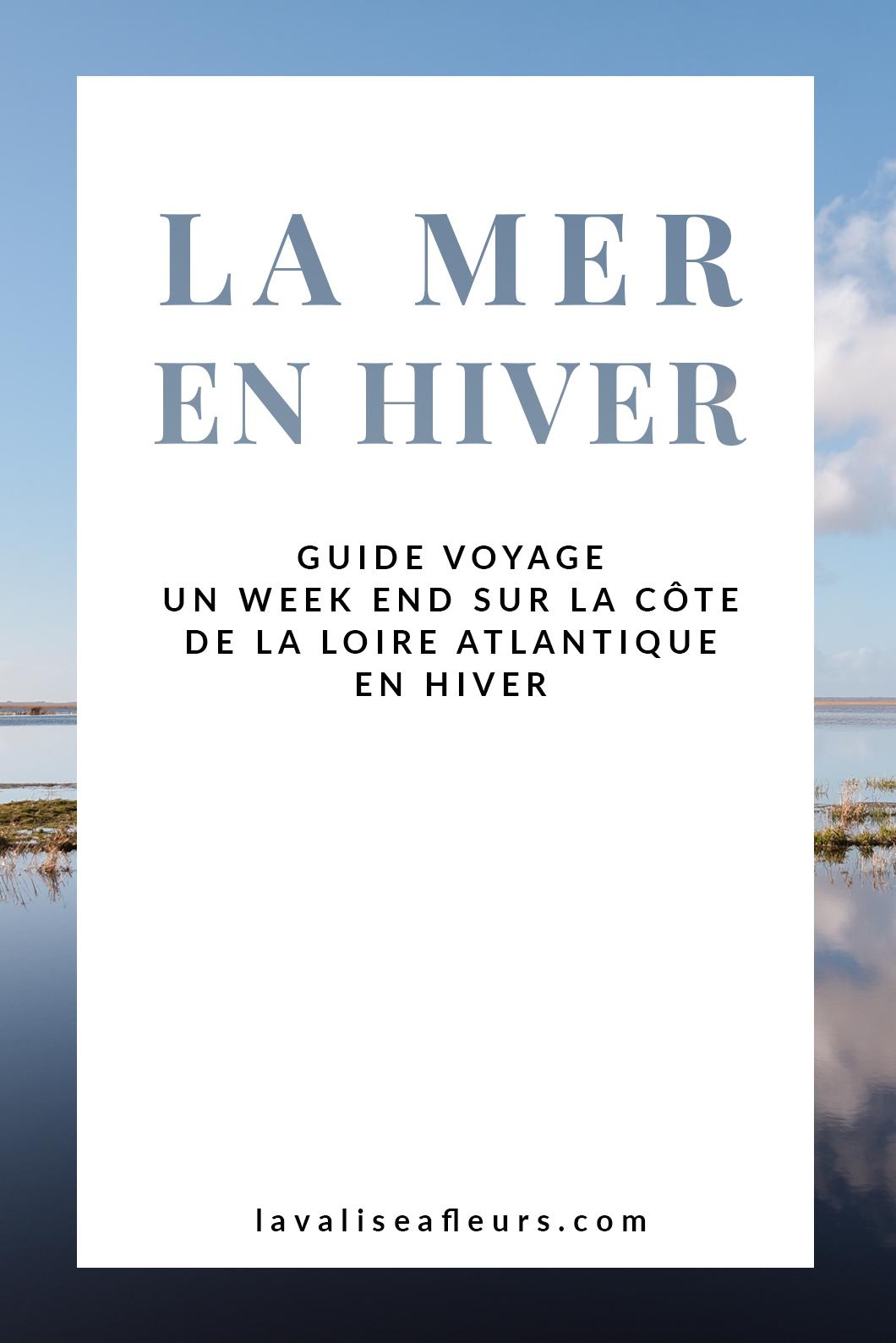 Loire Atlantique - La Mer En Hiver