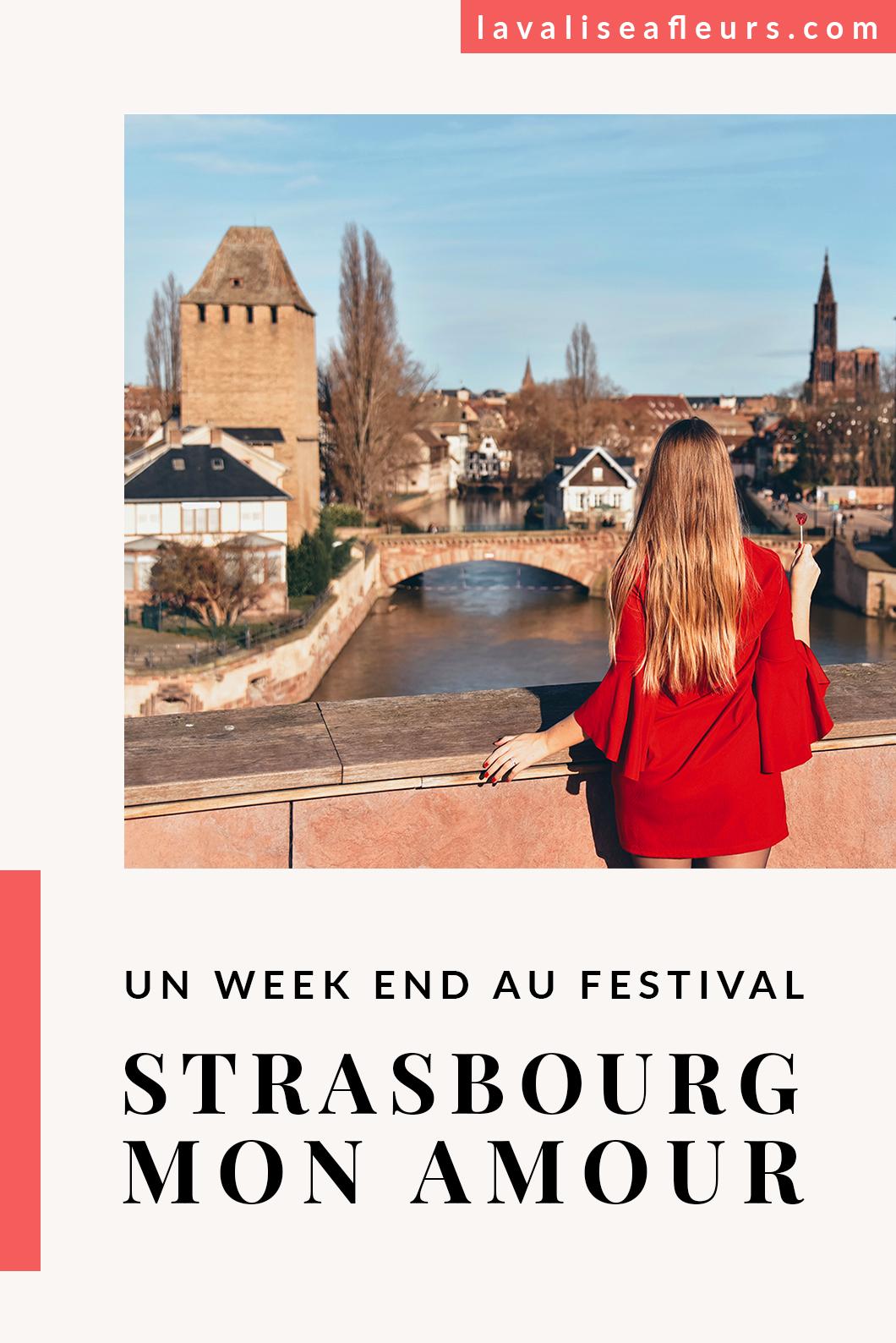 Un week end au festival Strasbourg mon Amour