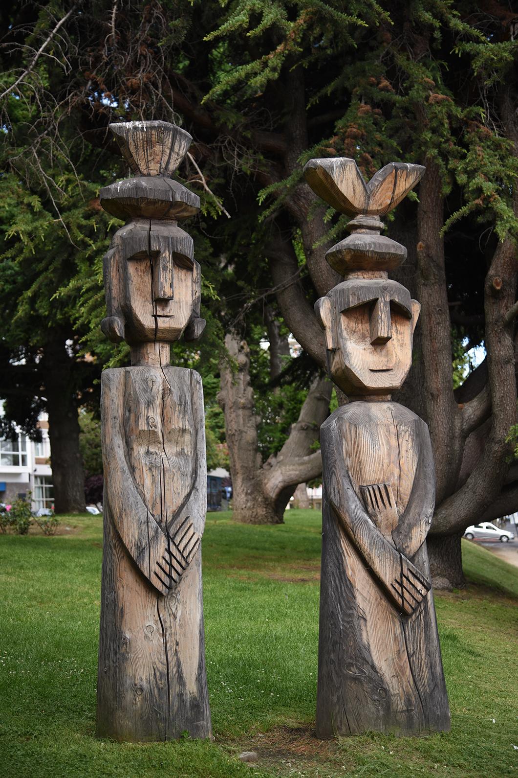 Les gardiens du lac à Bariloche
