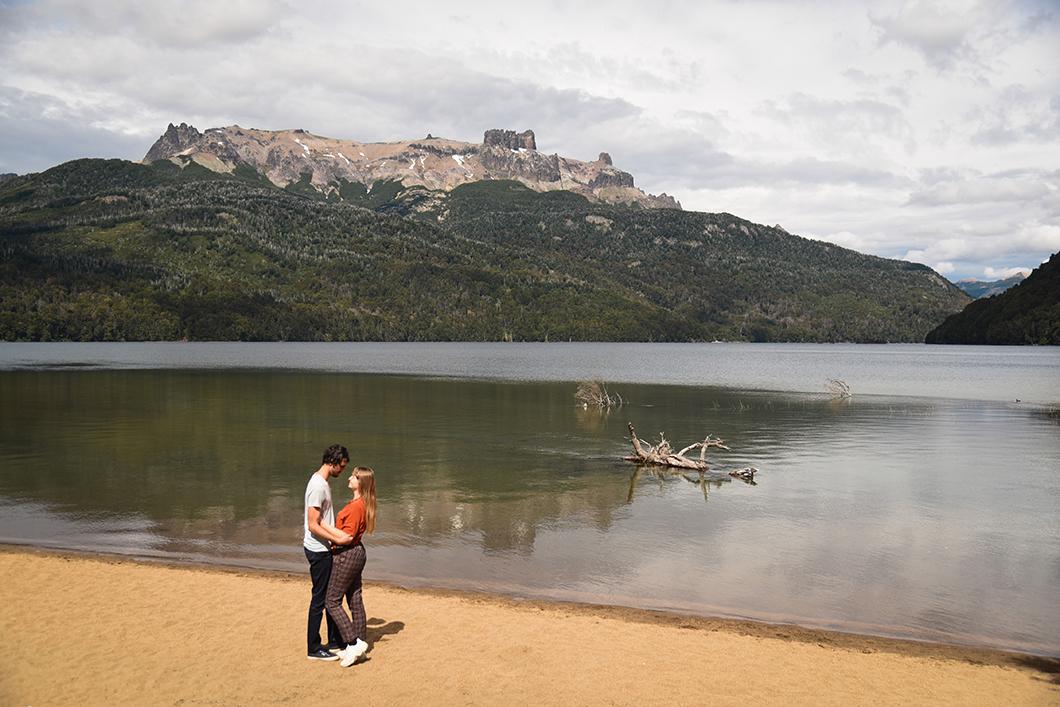 Lago Espejo, Correntoso, Villarino, Falkner, Hermoso, Machonico et Lacar à Bariloche