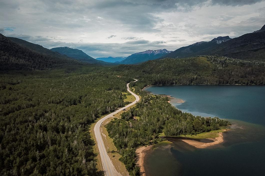 La route 40 à Bariloche