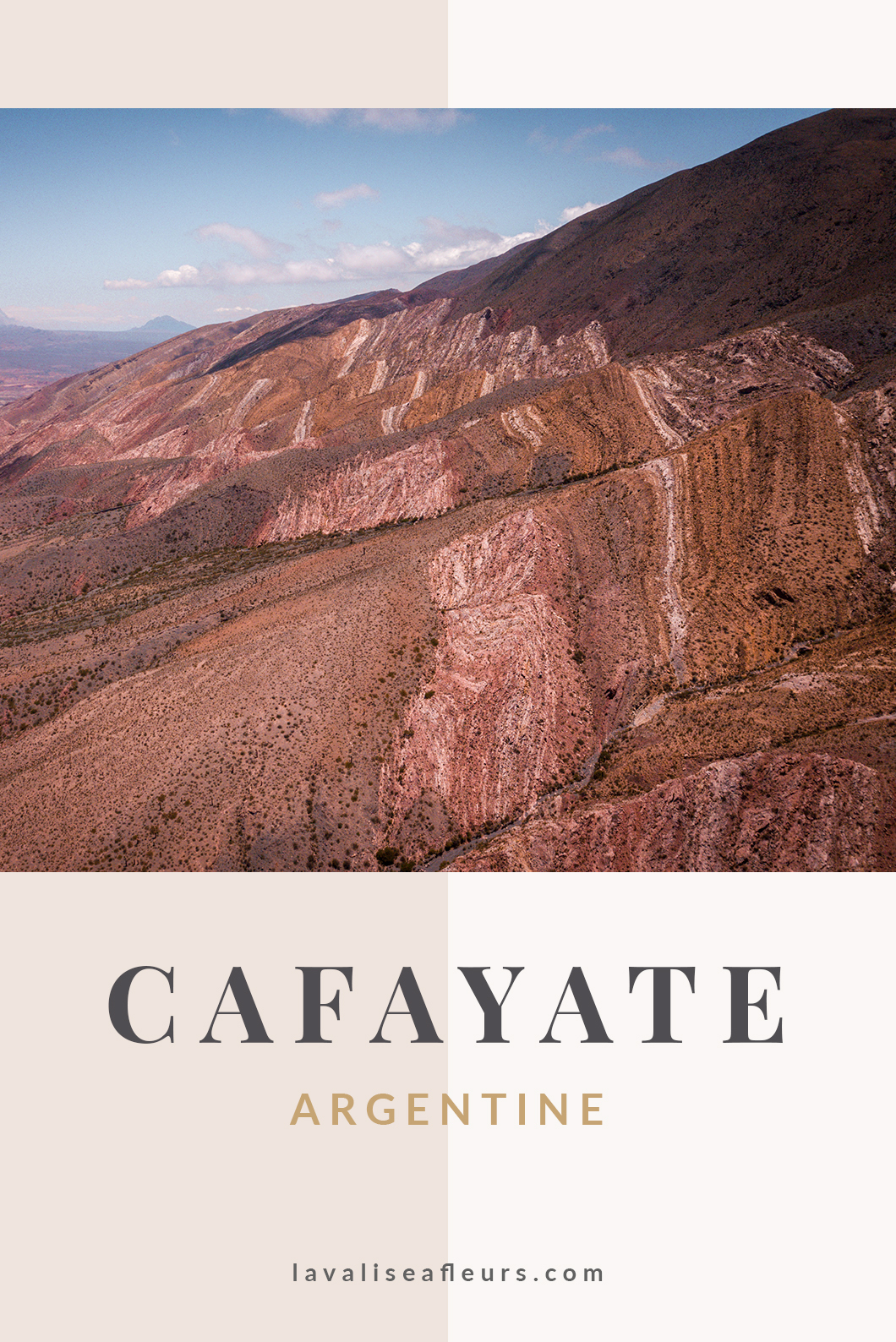 Cafayate en Argentine