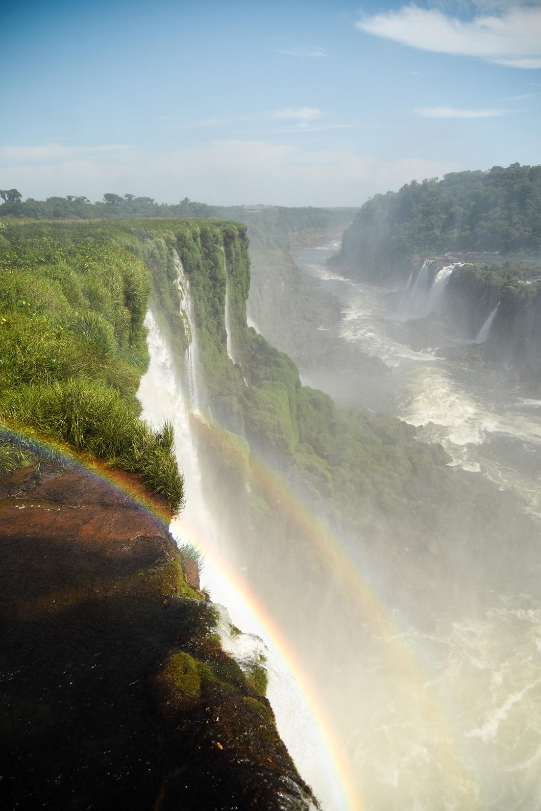 Découverte des chutes d'Iguazu