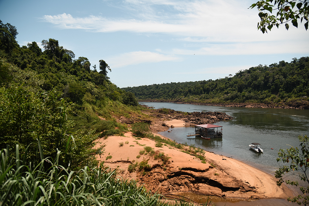 Balade en bateau aux chutes d'Iguazu