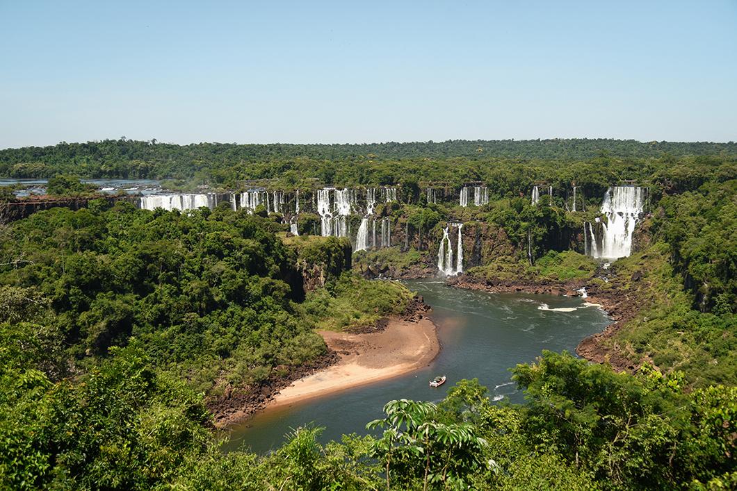 Visiter le Parc national d'Iguazu côté Brésil