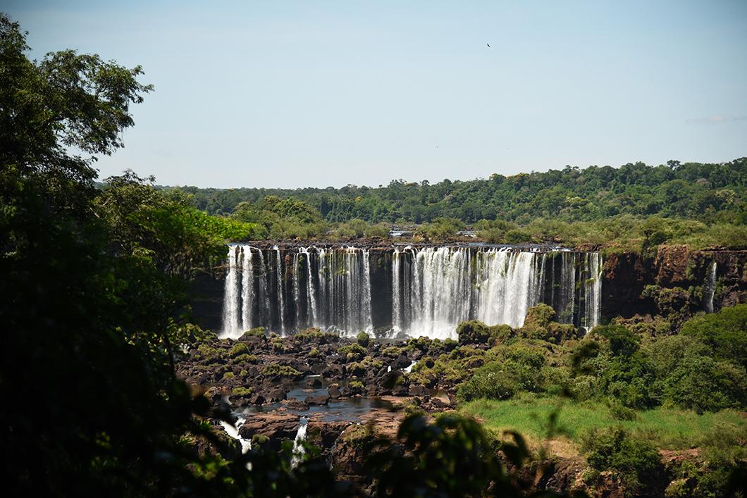 Découverte des chutes d'Iguazu au Brésil