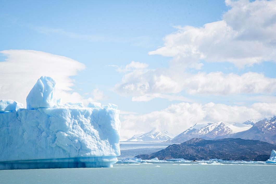Faire du bateau au glacier Upsala