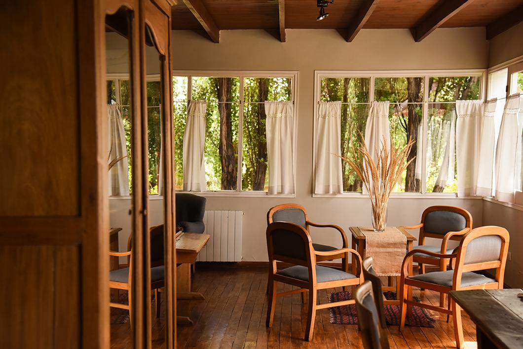 Cauquenes de Nimez, hotel en Patagonie