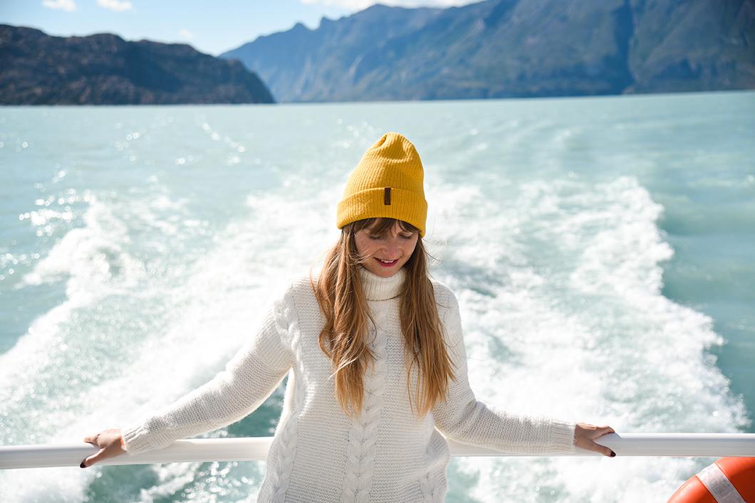 Balade en bateau au milieu des glaciers