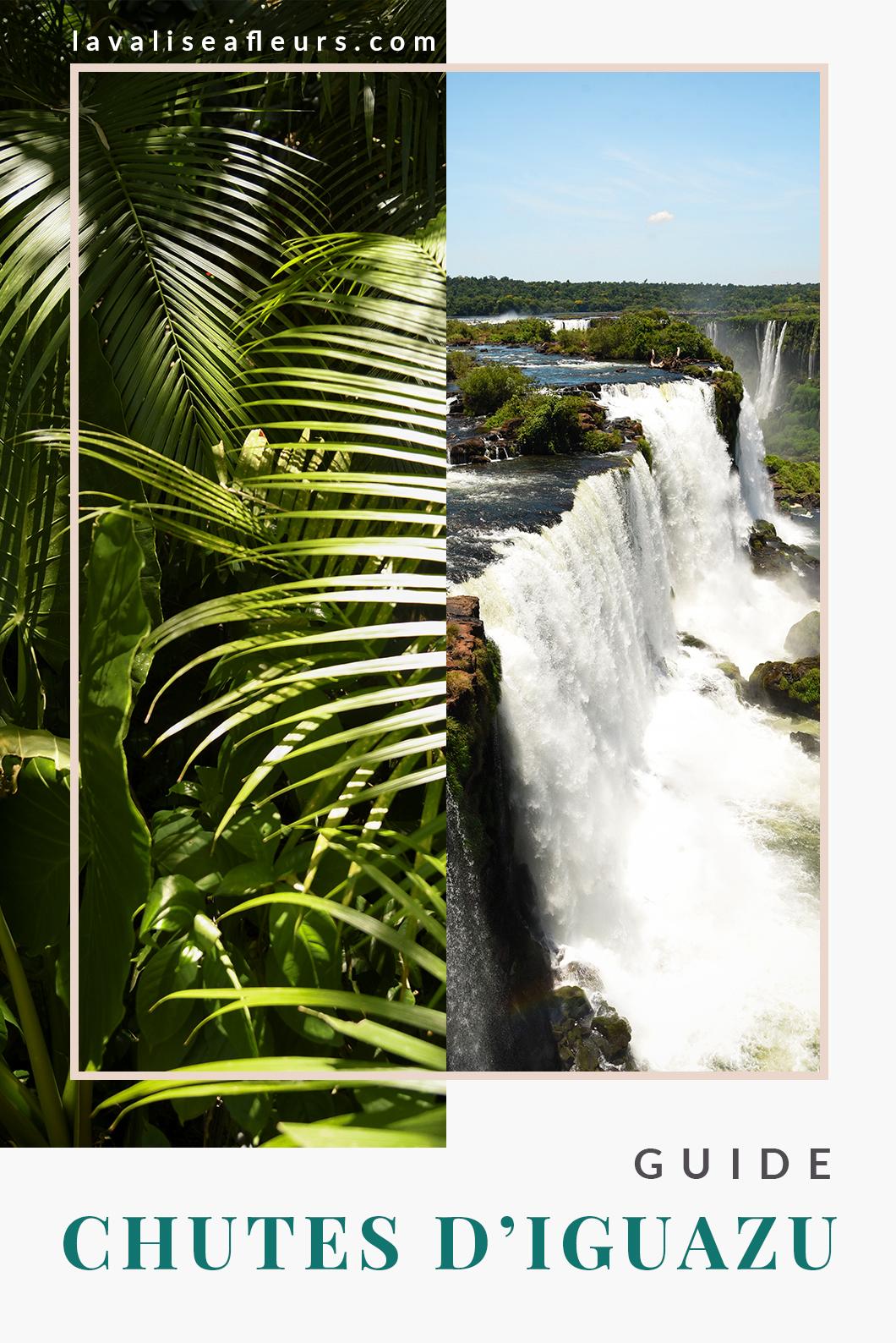 Guide des chutes d'iguazu