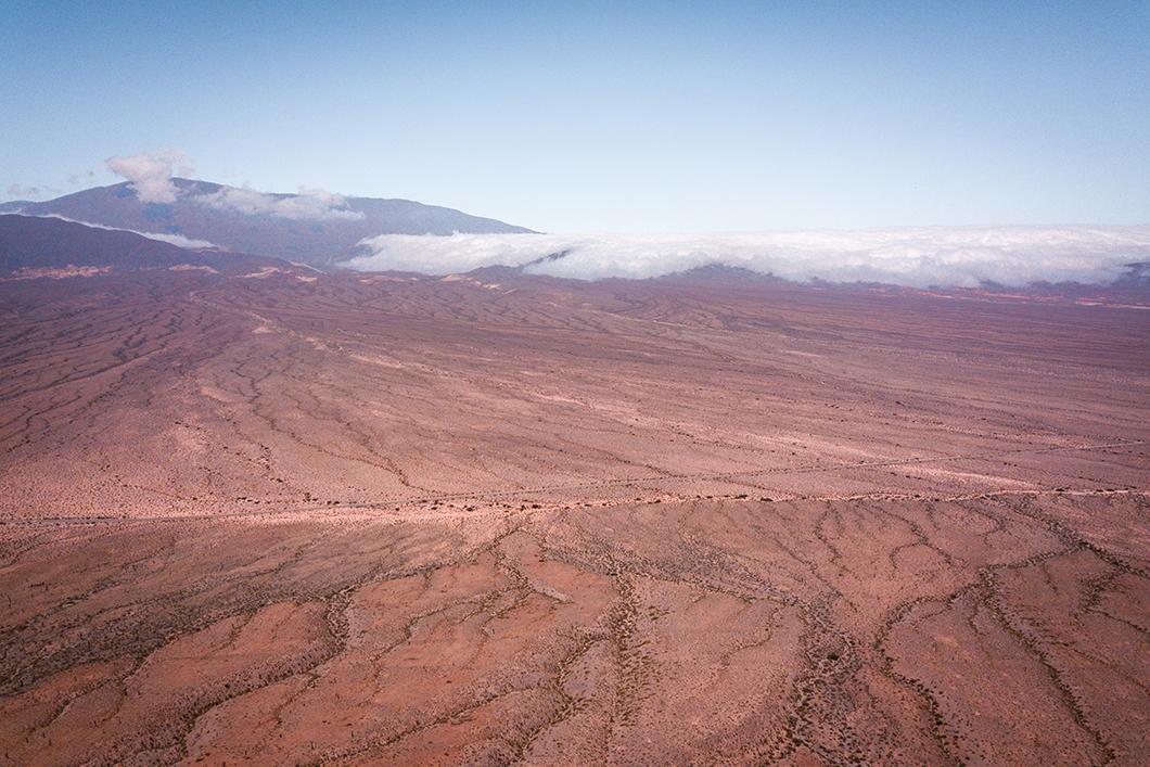 Le Parque national Los Cardones vu du ciel