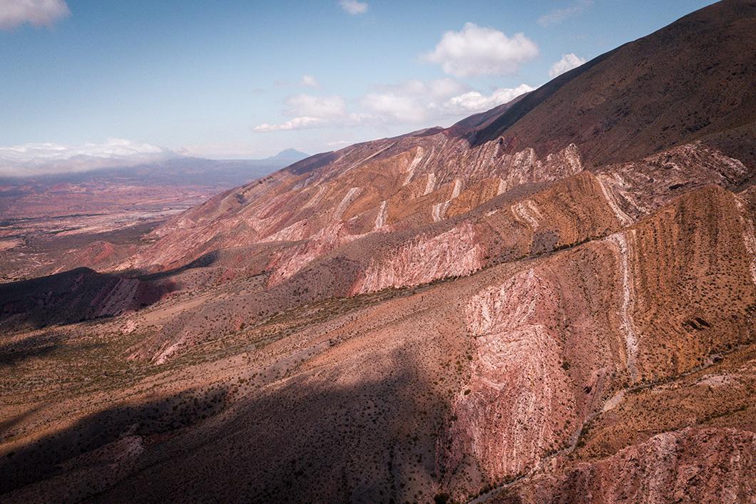 Formations géologiques du Parc National Los Cardones