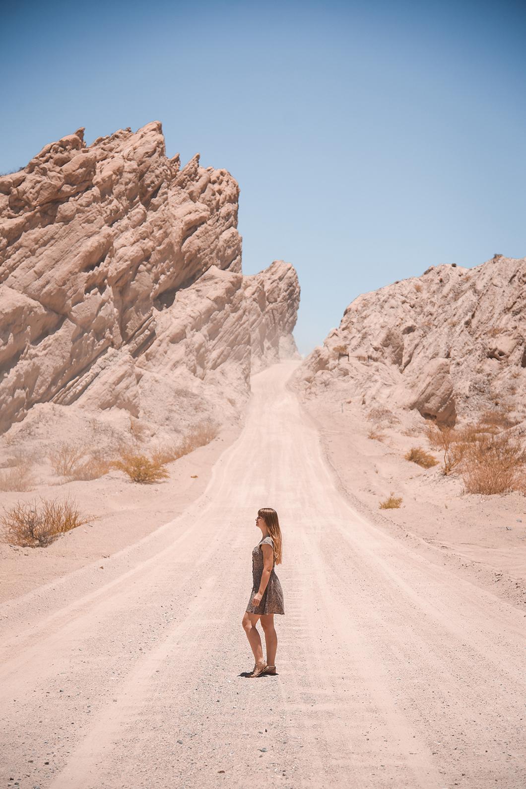 Seuls dans la Quebrada de las Flechas