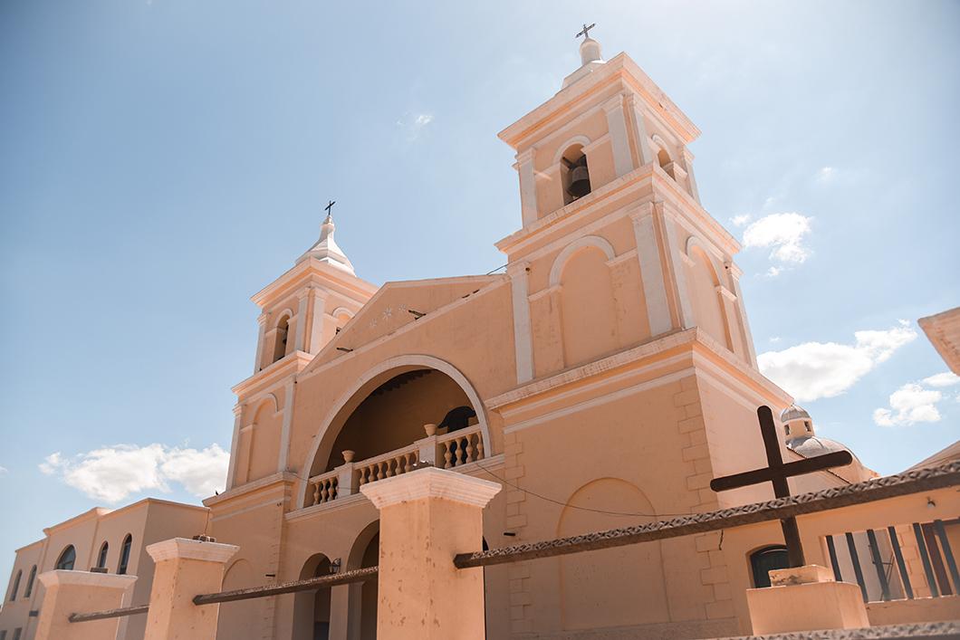 Eglise dans la Quebrada de las Flechas
