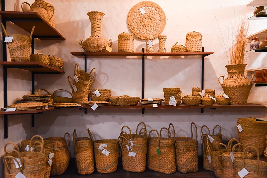 Shopping au marché artisanal à Cafayate