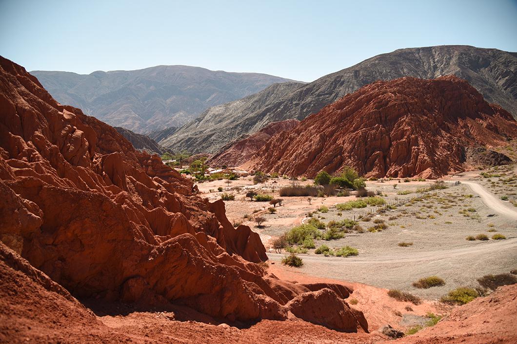 La colline aux 7 couleurs, les alentours de Salta