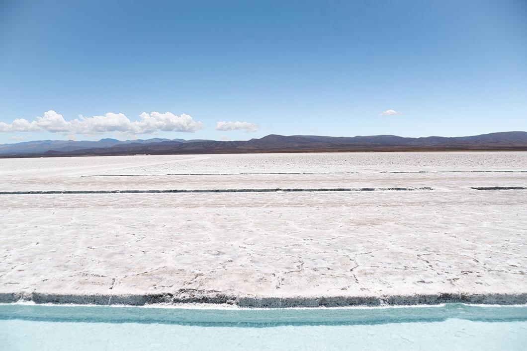 Visite avec guide aux Salinas Grandes en Argentine