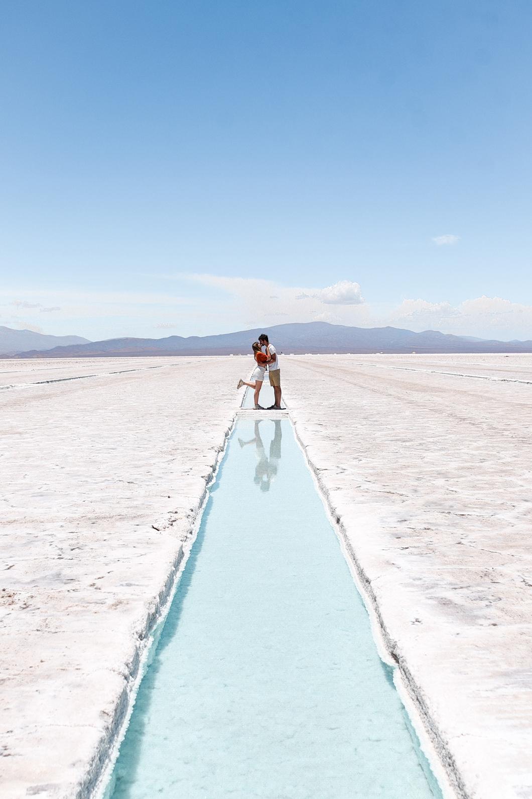 Les plus beaux points de vue aux Salinas Grandes en Argentine