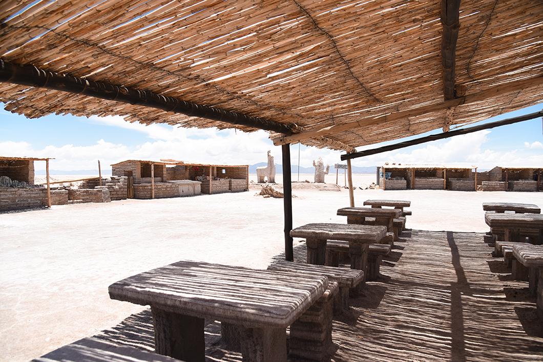 Salinas Grandes, province de Jujuy en Argentine