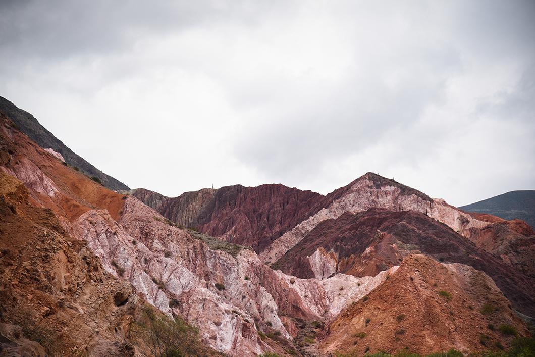 Plus beaux points de vue à la Cilline aux 7 couleurs à Purmamarca