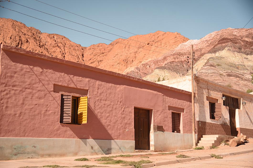 Maisons en terre cuite de Purmamarca
