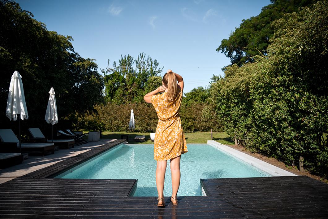 La Finca Valentina et son jardin avec piscine