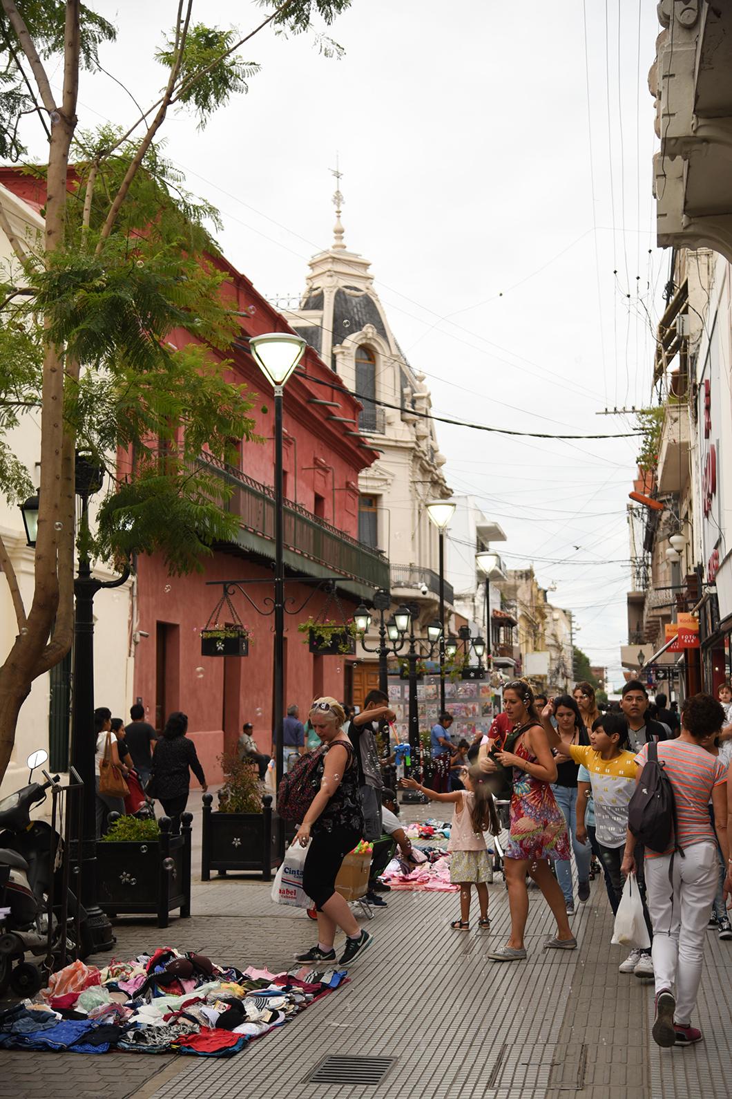 Les rues de Salta