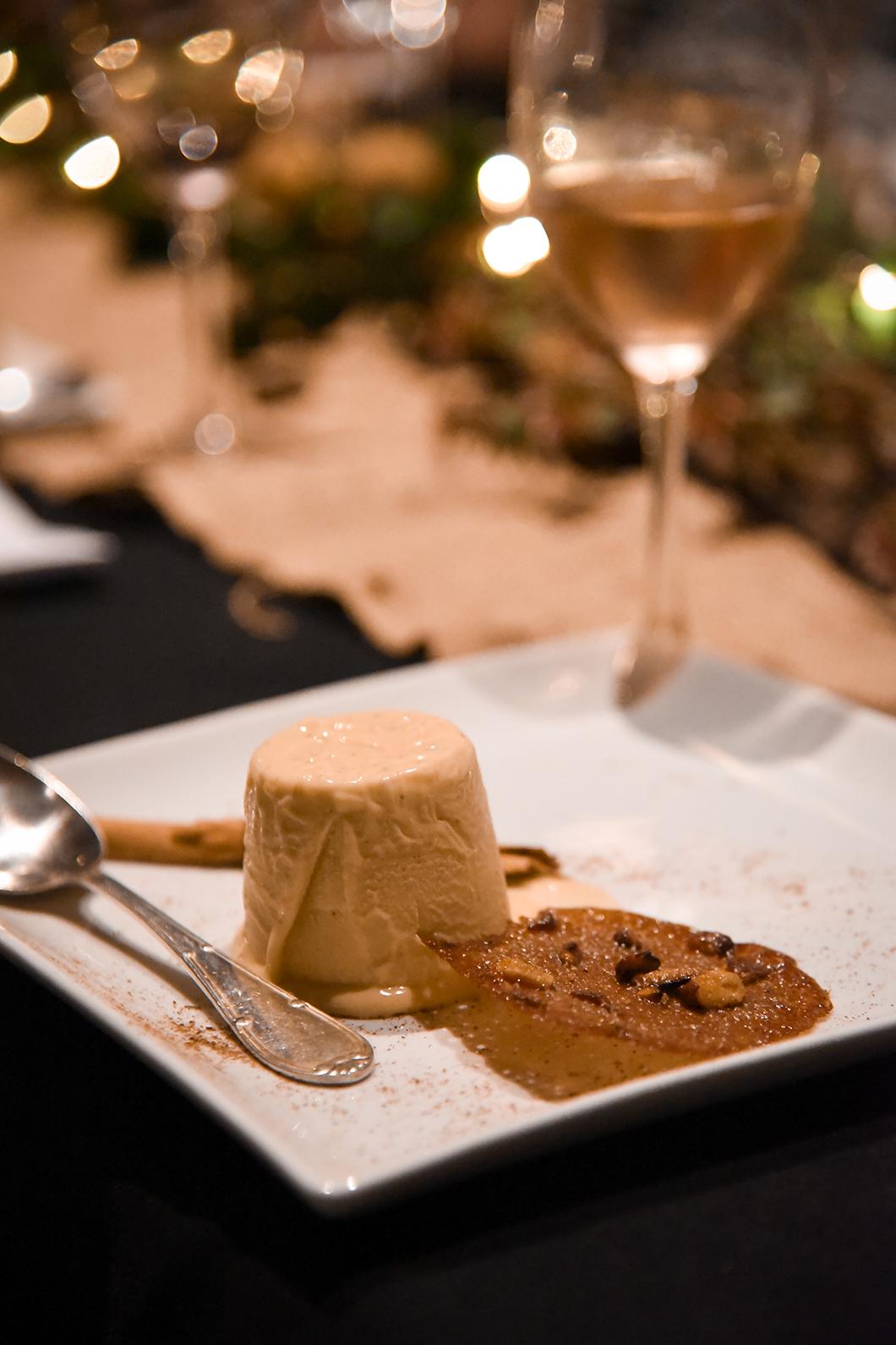 Dessert de Noël à la Finca Valentina