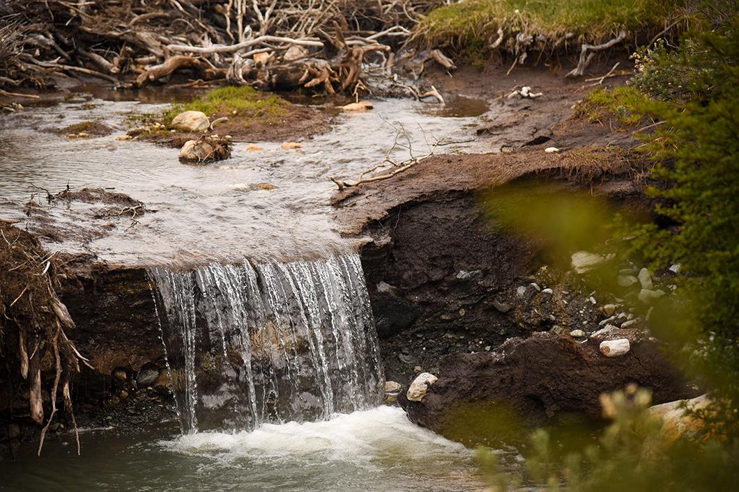 La Laguna Esmeralda en Patagonie