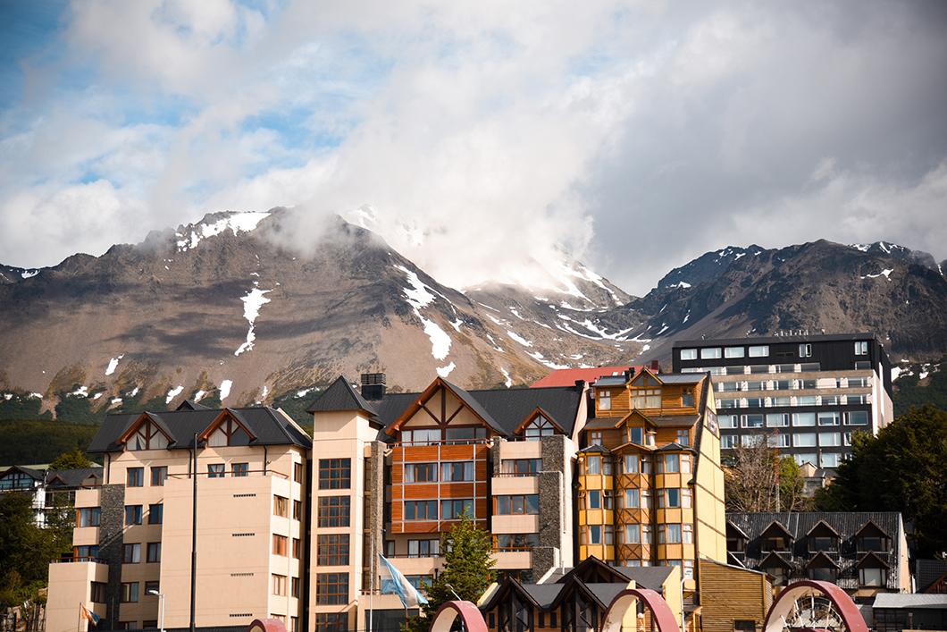 Le centre ville d'Ushuaia