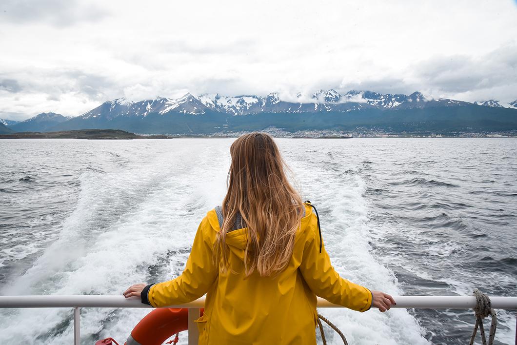 Faire du bateau en Patagonie