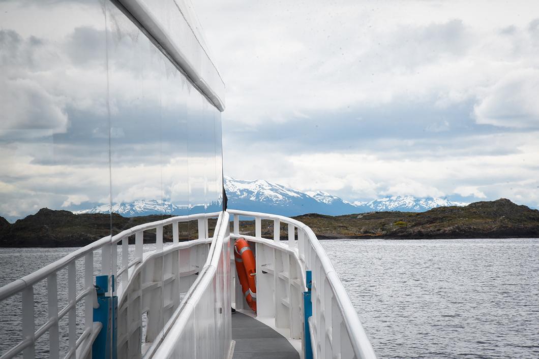 Balade en bateau à Ushuaia