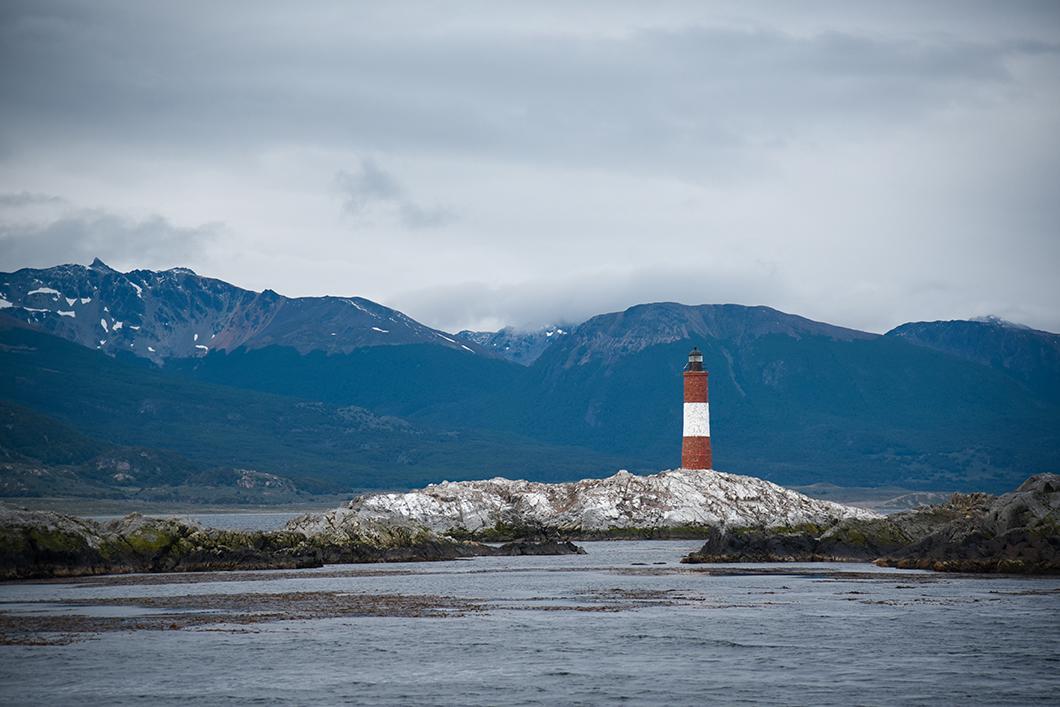Le phare du bout du monde à Ushuaia