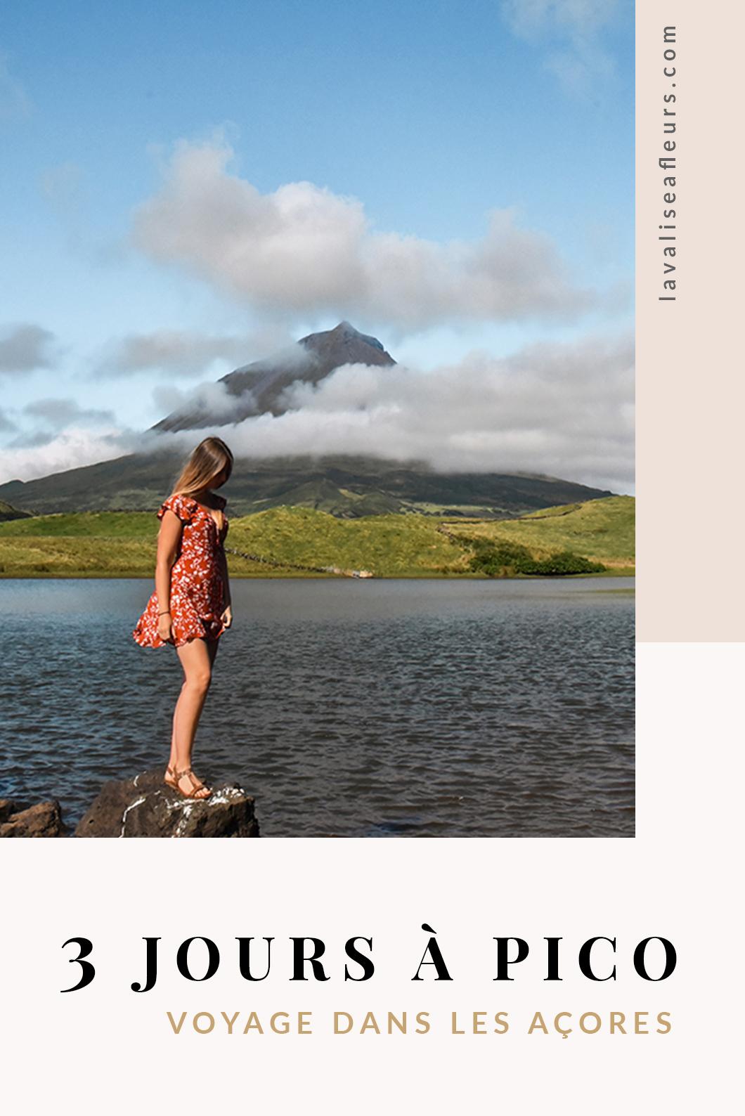 3 jours à Pico, voyage dans les Açores