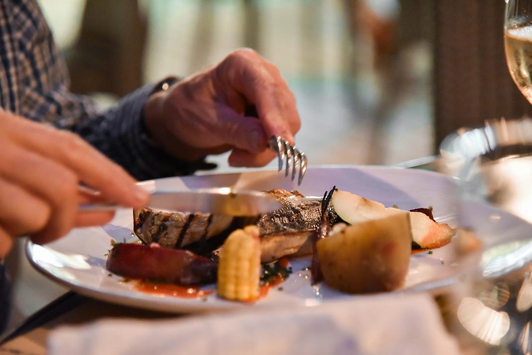 Restaurant À Terra Fornaria à Furnas sur l'île de Sao Miguel dans les Açores