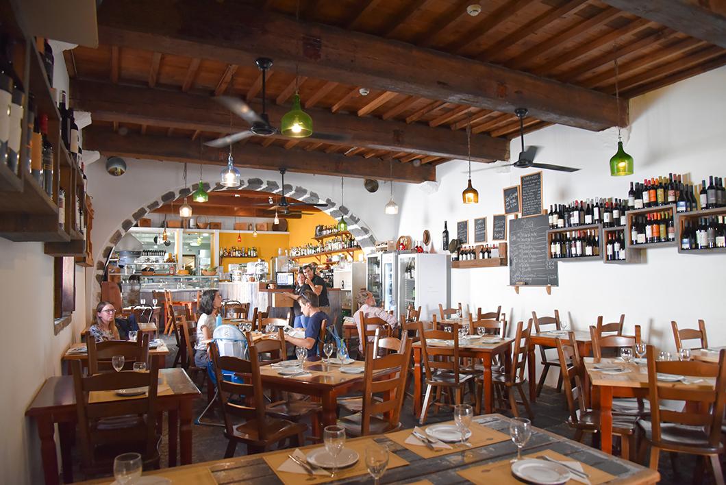 Restaurant A Tasca à Ponta Delgada à Sao Miguel dans les Açores
