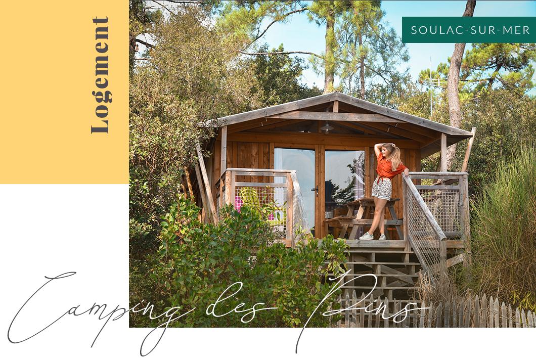 Où dormir à Soulac-sur-Mer ? Le Camping des Pins