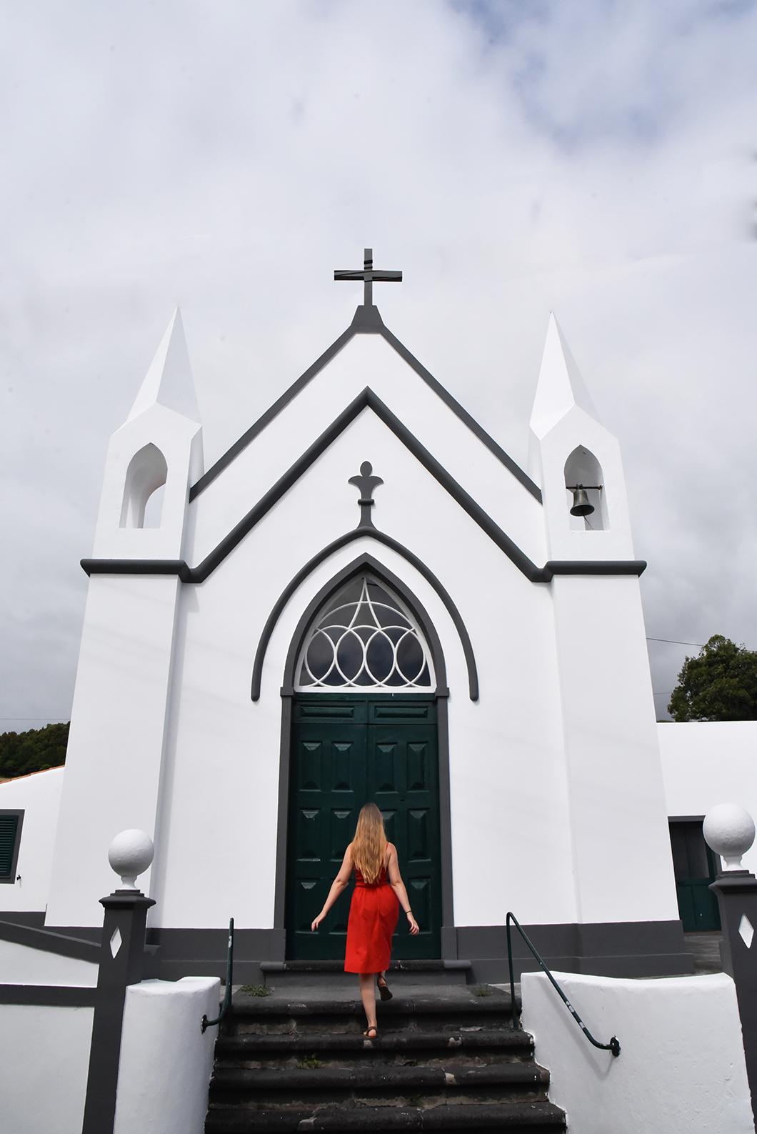 Les belles églises de Faial dans les Açores