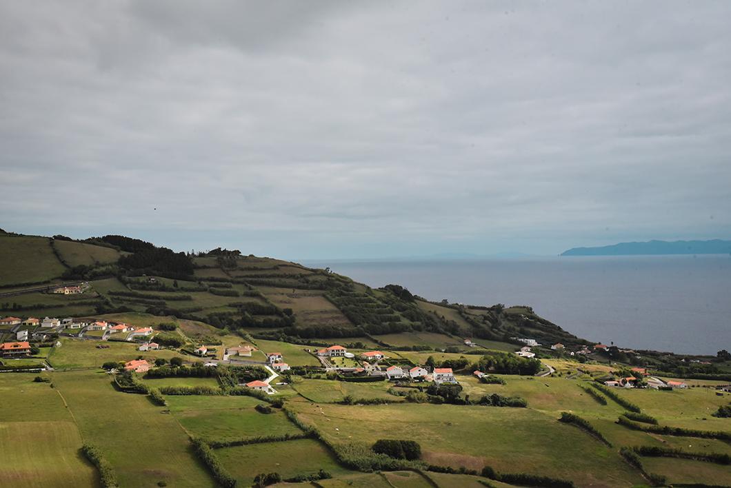 Miradouro de Nossa Senhora da Conceição, point de vue incontournable sur l'île de Faial