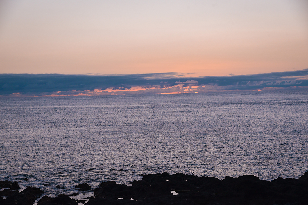 Porto do Comprido, spot pour les coucher de soleil à Faial