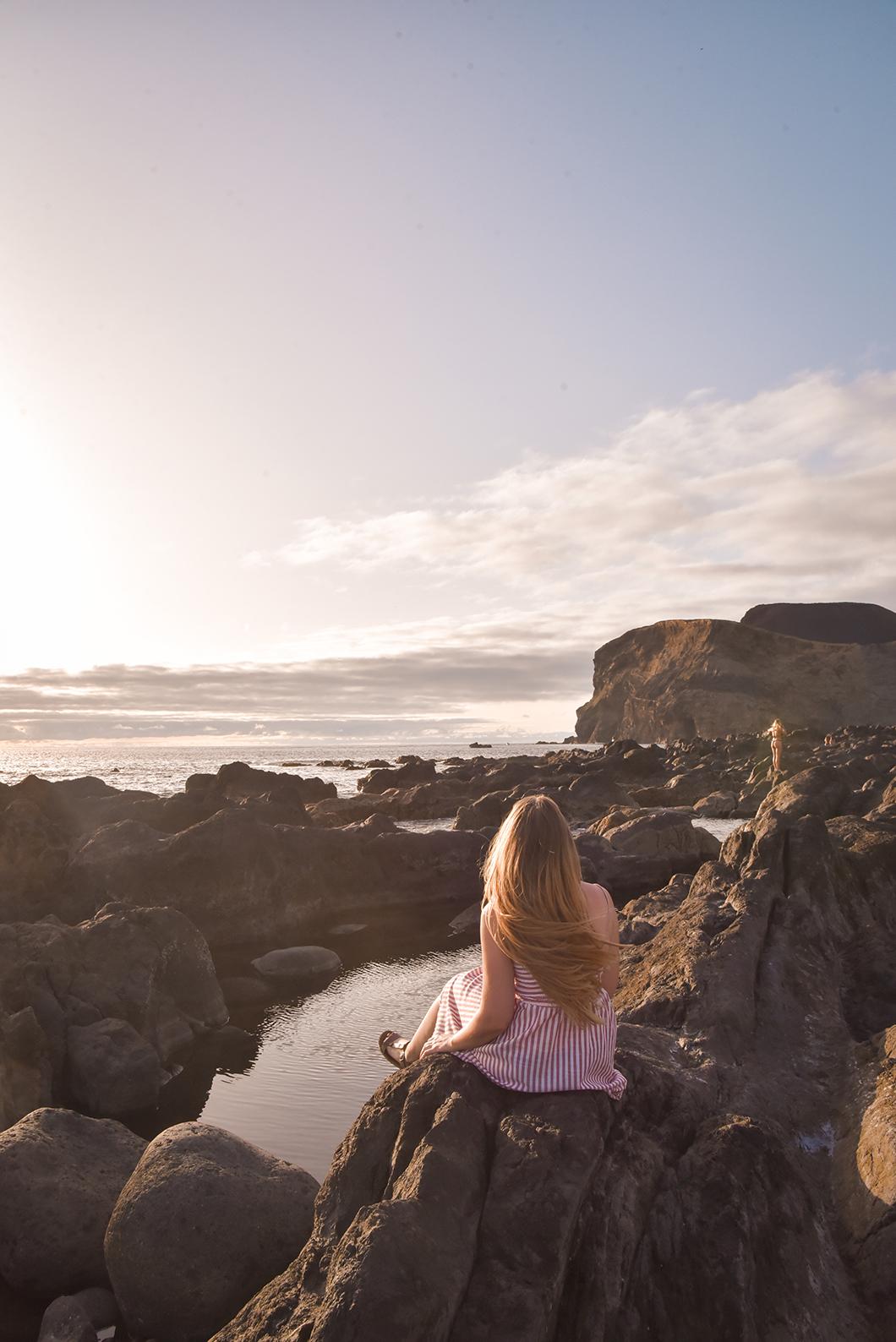 Phare de Ponta dos Capelinhos, meilleurs spot pour le coucher de soleil dans les Açores au Portugal