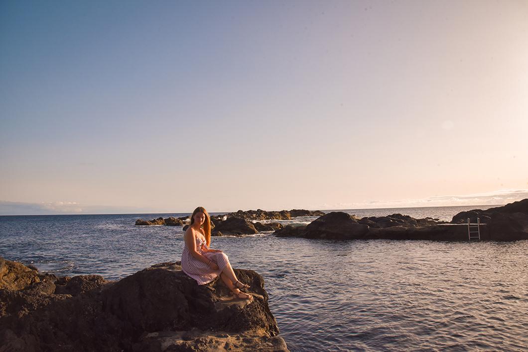 Sunset à Capelinhos à Faial
